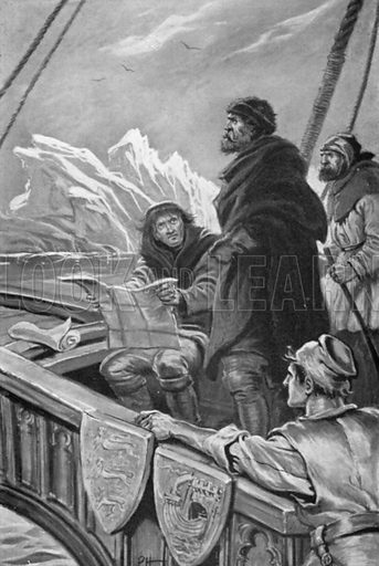 John Cabot Encountered Enormous Icebergs