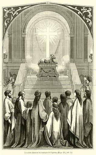 Les saints chantent les louanges de l
