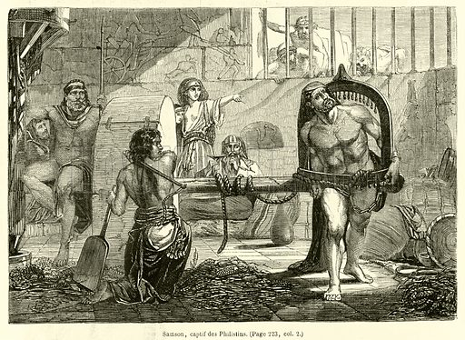 Samson, captif des Philistins
