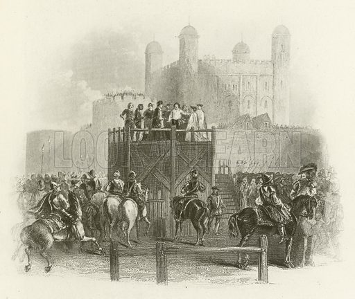 Execution of Dudley, Earl of Leicester