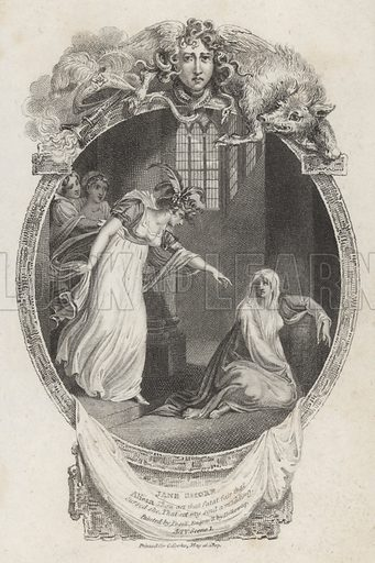 Scene from The Tragedy of Jane Shore by Nicholas Rowe.