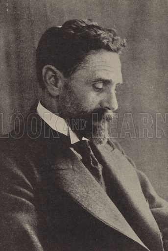 Sir Roger Casement (1864–1916), Irish civil servant and nationalist hanged for treason after the Easter Rising of 1916. Illustration for Harper's Pictorial Library of the World War, c 1920.
