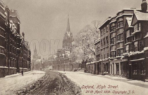 Oxford High Street, 26 April 1908