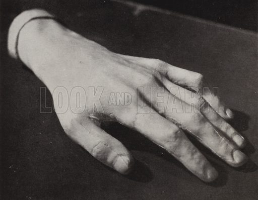 Hand of Frederic Chopin
