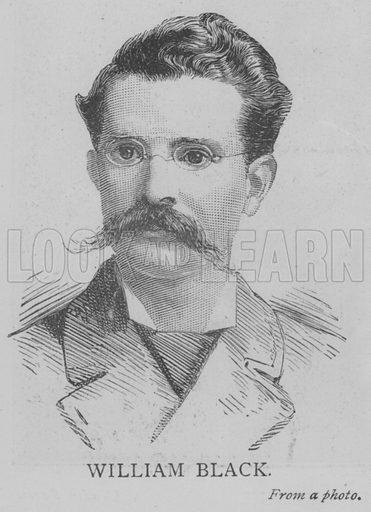 William Black. Illustration for The Picture Magazine, 1893.