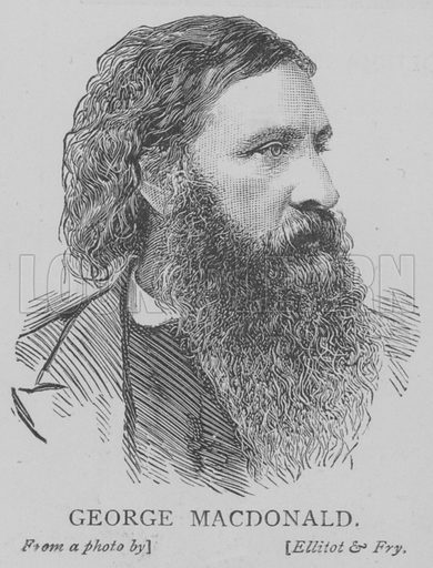 George Macdonald. Illustration for The Picture Magazine, 1893.