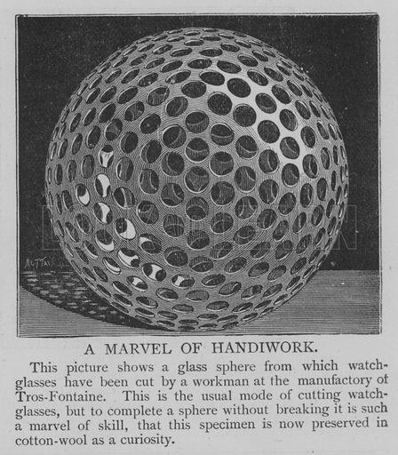 A Marvel of Handiwork. Illustration for The Picture Magazine, 1893.