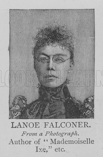Lanoe Falconer. Illustration for The Picture Magazine, 1894.