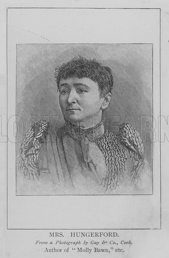 Mrs Hungerford. Illustration for The Picture Magazine, 1894.