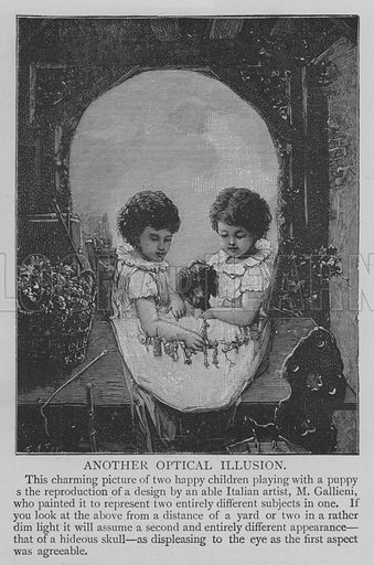 Another Optical Illusion. Illustration for The Picture Magazine, 1894.