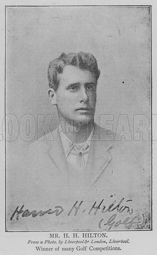 Mr HH Hilton. Illustration for The Picture Magazine, 1894.