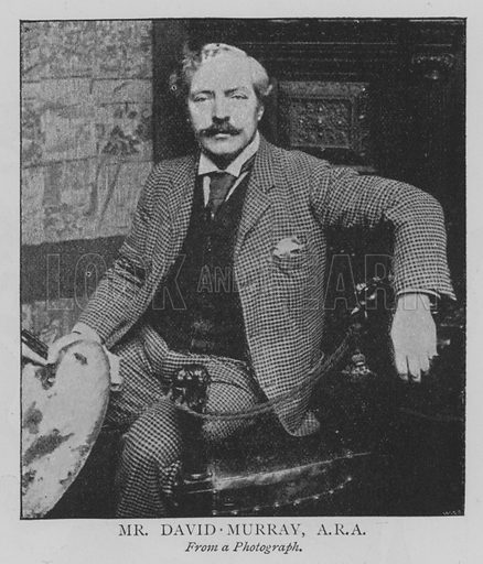 Mr David Murray, ARA Illustration for The Picture Magazine, 1895.