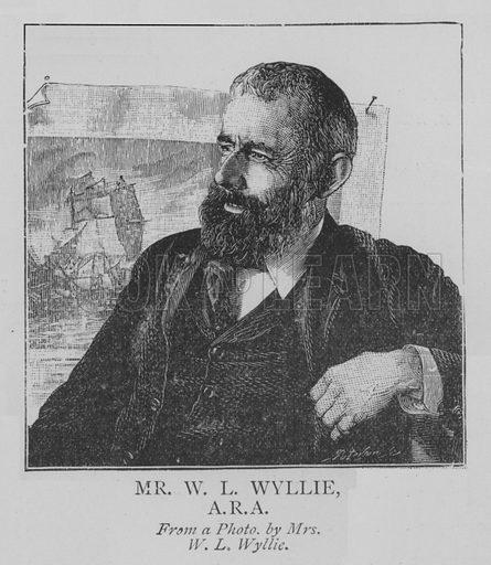 Mr WL Wyllie, ARA Illustration for The Picture Magazine, 1895.