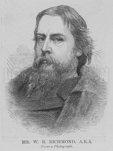 Mr WB Richmond, ARA Illustration for The Picture Magazine, 1895.