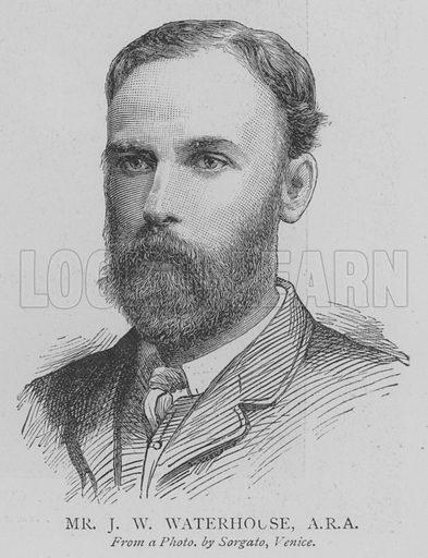 Mr JW Waterhouse, ARA Illustration for The Picture Magazine, 1895.