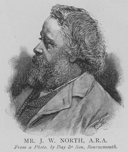 Mr JW North, ARA Illustration for The Picture Magazine, 1895.