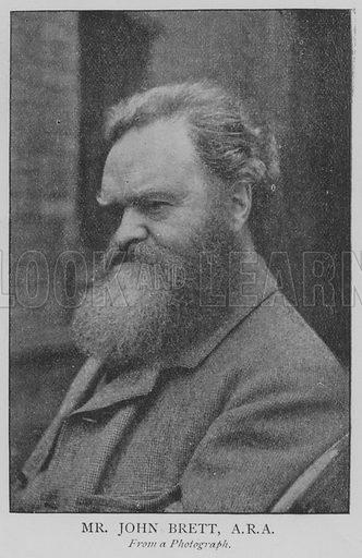 Mr John Brett, ARA Illustration for The Picture Magazine, 1895.