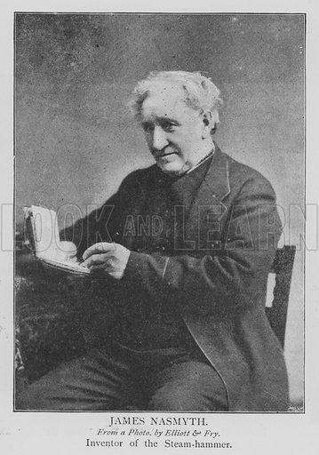 James Nasmyth. Illustration for The Picture Magazine, 1895.