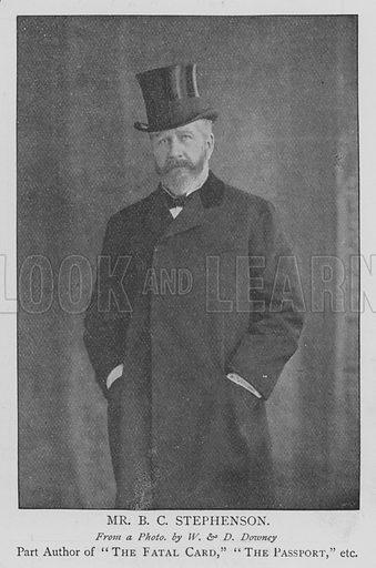 Mr BC Stephenson. Illustration for The Picture Magazine, 1895.