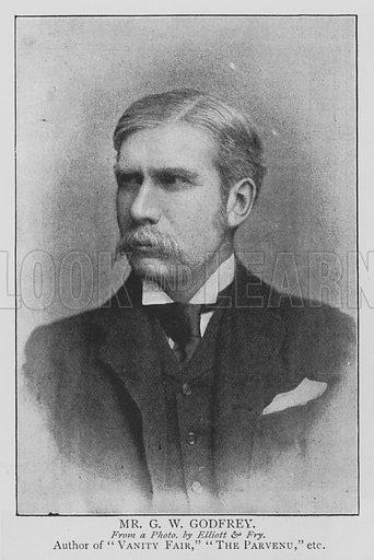 Mr GW Godfrey. Illustration for The Picture Magazine, 1895.