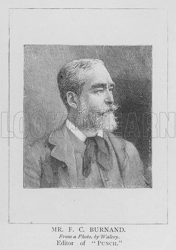 Mr FC Burnand. Illustration for The Picture Magazine, 1895.