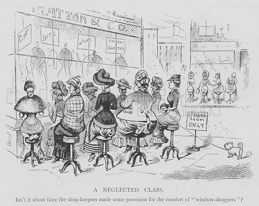 A Neglected Class. Illustration for The Picture Magazine, 1895.