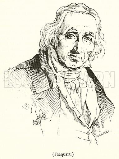 Jacquart. Illustration for Le Magasin Pittoresque (1835).