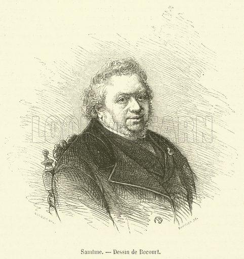 Saintine. Illustration for Le Magasin Pittoresque (1868).