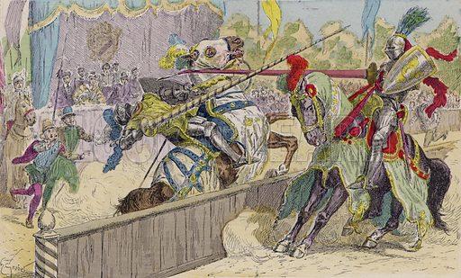 Illustration from Histoire de France (Theodore Lefevre et Cie, Paris, c1902).