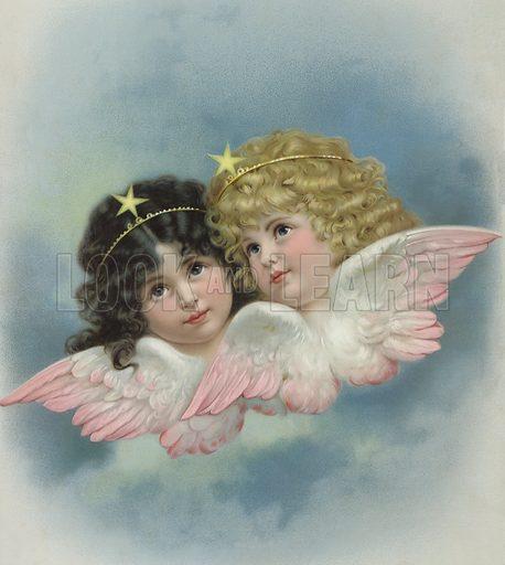 Two cherubs.