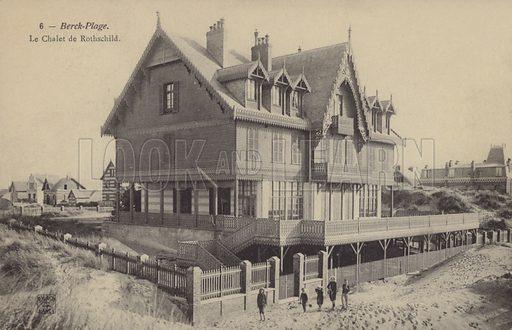 Chalet de Rothschild, villa of Baronne James de Rothschild at Berck-Plage, France.