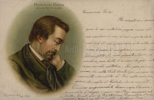 Heinrich Heine (1797–1856), German poet.