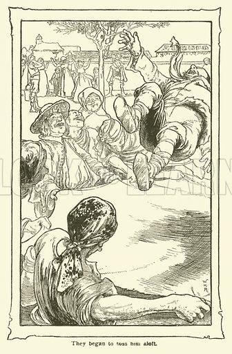 Illustration for The Adventures of Don Quixote of La Mancha by Miguel De Cervantes (Dent, 1902).