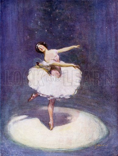 The Sugar Plum Fairy. Illustration for Days with the Great Composers (Hodder and Stoughton, c 1910).