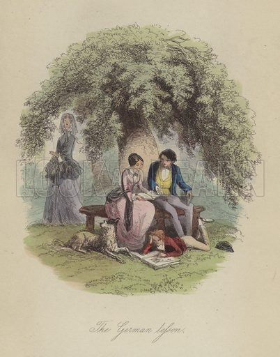 Illustration for Lewis Arundel or The Railroad of Life by Frank E Smedley (George Routledge, c 1890).
