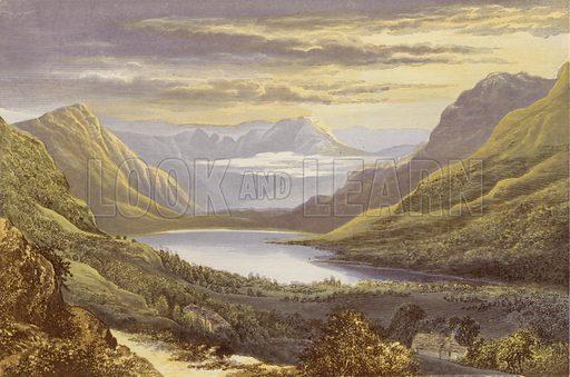 Buttermere. Illustration for English Lake Scenery (John Walker, 1880).
