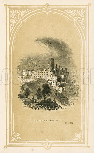 Castle of Heidelberg. Illustration for Scenes and Stories from European History (Thomas Nelson, 1848).