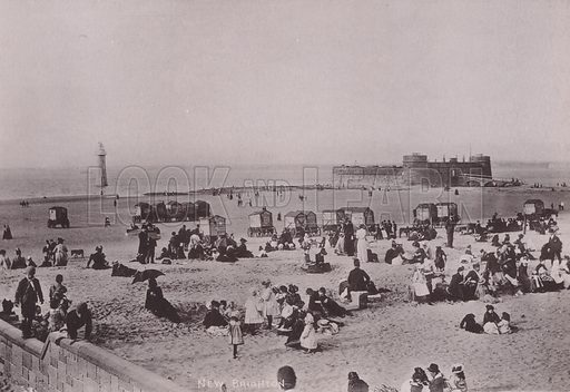 New Brighton, Liverpool. Illustration for booklet of photographs on Liverpool (Friths, c 1895).