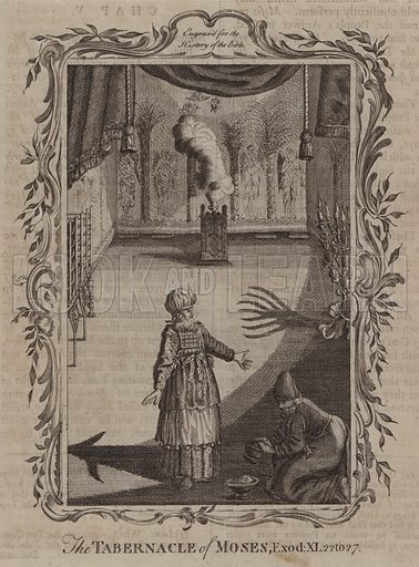 The Tabernacle of Moses. Illustration for A New and Complete History of the Holy Bible by John Fleetwood (J Cooke, c 1770).