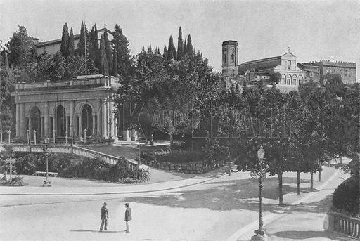 Firenze, Chiesa di San Miniato al Monte. Illustration for Ricordo Di Firenze, c 1895.