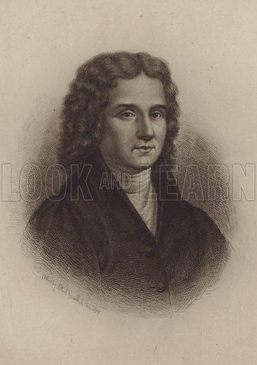 Alessandro Scarlatti. Illustration for Cyclopedia of Music and Musicians edited by John Denison Champlin (Charles Scribner, 1888).