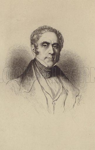 Daniel Francois Esprit Auber. Illustration for Cyclopedia of Music and Musicians edited by John Denison Champlin (Charles Scribner, 1888).