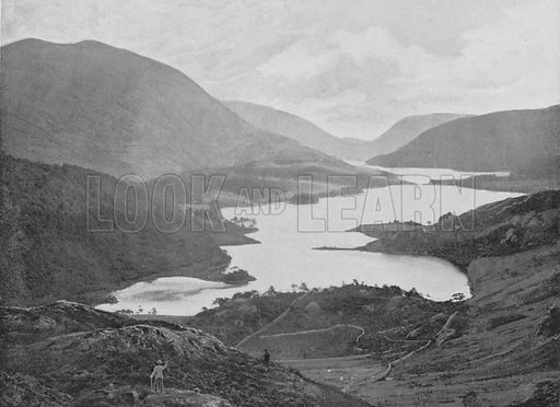 Thirlmere and Helvellyn. Illustration for Pictorial England and Wales (Cassell, c 1895).