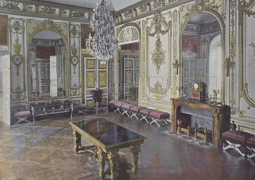 Salle du Conseil. Illustration for La France, Aquarelles Souvenirs de Voyages (Boulanger, c 1900).