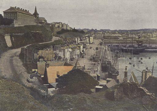 Granville. Illustration for La France, Aquarelles Souvenirs de Voyages (Boulanger, c 1900).