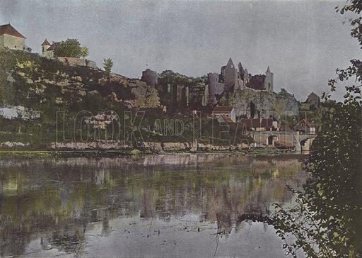 Angles. Illustration for La France, Aquarelles Souvenirs de Voyages (Boulanger, c 1900).