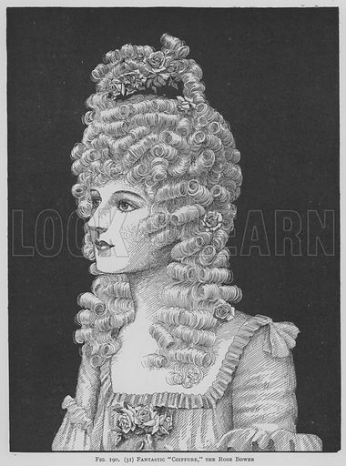 Fantastic Coiffure, the rose bower