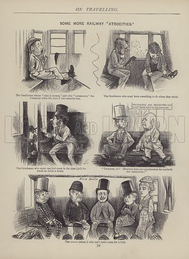 Illustration for The British Working Man or One Who Does Not Believe In Him and other sketches by J F Sullivan, engraved by Dalziel Brothers (Fun Office, 1878).