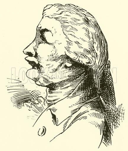Karl Friedrich Abel, 1725–1787. Illustration for Cyclopedia of Music and Musicians edited by John Denison Champlin (Charles Scribner, 1889).
