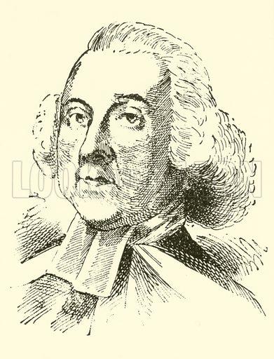 John Alcock, 1715–1806. Illustration for Cyclopedia of Music and Musicians edited by John Denison Champlin (Charles Scribner, 1889).